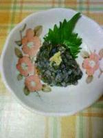 アオリイカの味噌タタキ(なめろう)