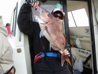 2012年初真鯛65cm