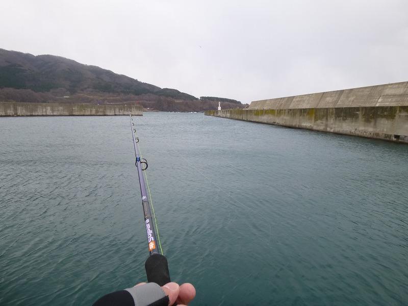 港の中は、静か。