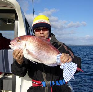 63cm真鯛ゲットォ