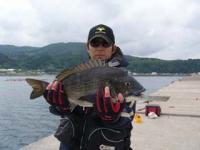 A氏黒鯛48cm