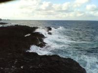 大荒れの日本海