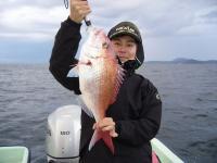 2010年真鯛60cm