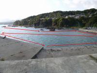 網の沈み場所