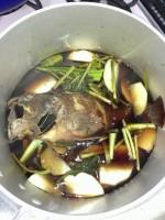 カサゴの煮物
